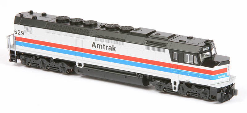 Kato Amtrak SDP40F and Amfleet Cars in N scale