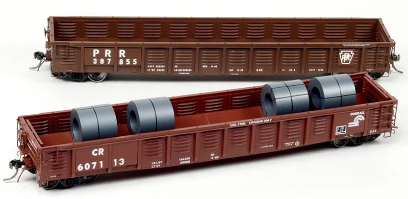 Tangent Scale Models PRR Class G43 Gondola in HO