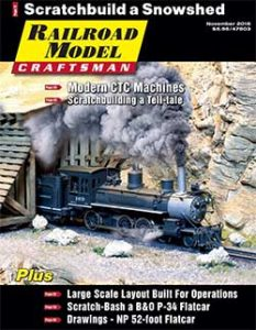 Railroad Model Craftsman November 2016