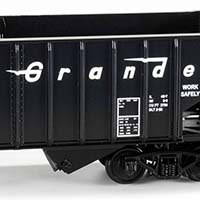 San Juan Rio Grande Hopper Decals in HO