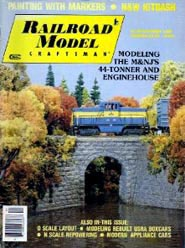 Railroad Model Craftsman October 1989
