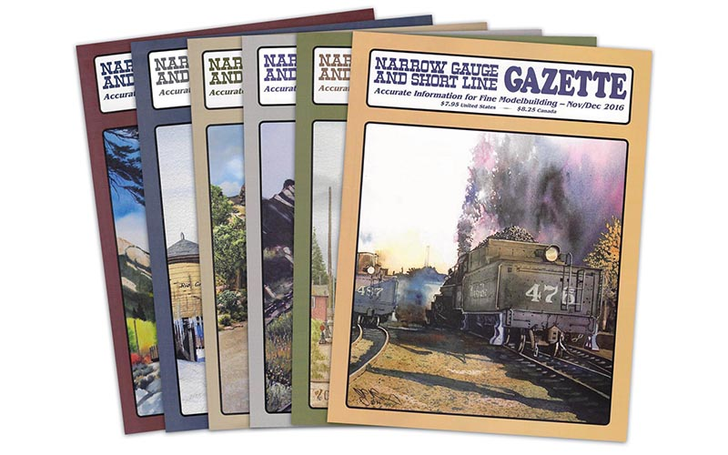 Narrow Gauge & Short Line Gazette joins WRP Family