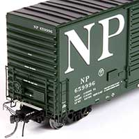 Northern Pacific Mini-Hy Cube in HO by Tangent Scale Models