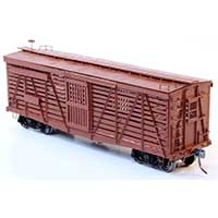 Westerfield Models Union Pacific S-40-1 Stock Car in HO scale