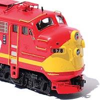 Modeling a Rock Island Commuter Diesel in N Scale