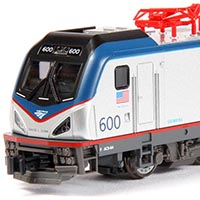 Amtrak's Siemens Cities Sprinter ACS-64 in N Scale by Kato