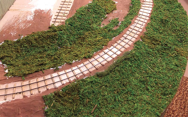 Easy Masking Tape Scenery