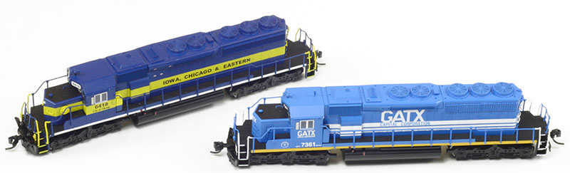 InterMountain Railway SD40-2 in N Scale