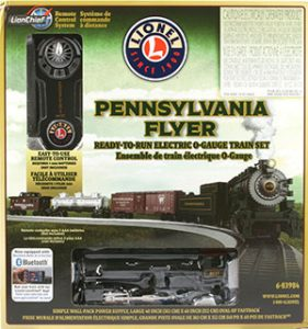 Lionel Trains Pennsylvania Flyer Train Set