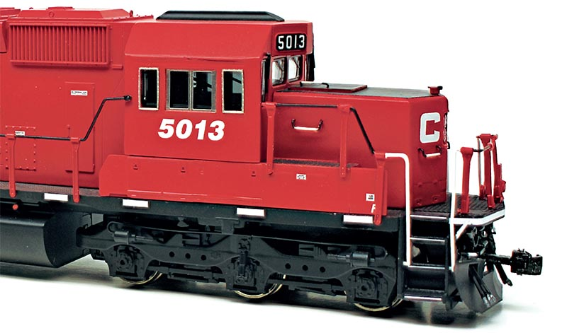 EMD SD30C-ECO: Kitbashing a Prototype Rebuild in HO Scale