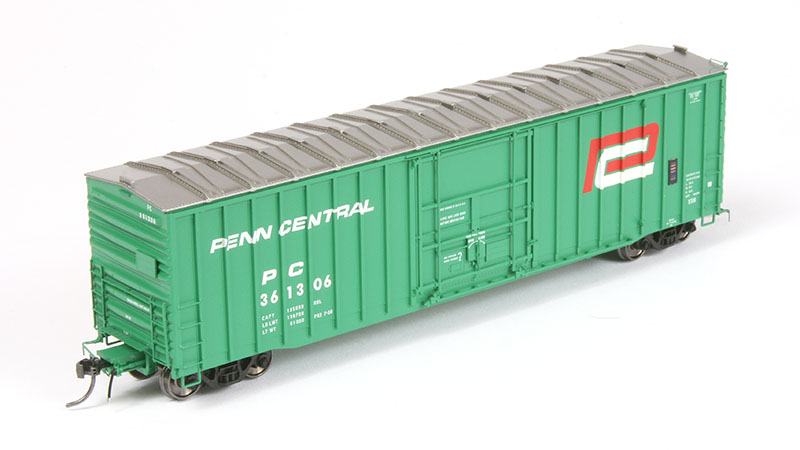 Tangent Scale Models Penn Central X58 Boxcar in HO Scale