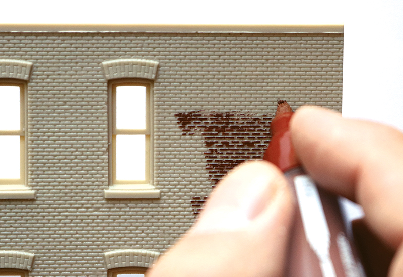 Weathering Brick