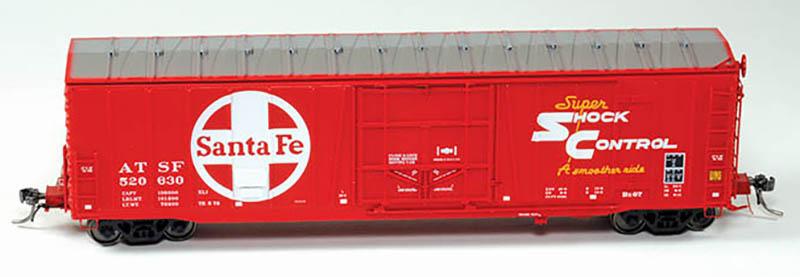 Moloco Trains Topkea Shops Bx-97 Boxcar in HO Scale