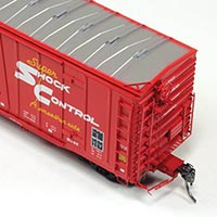 Moloco Trains Topkea Shops Bx-97 Boxcar in HO Scale