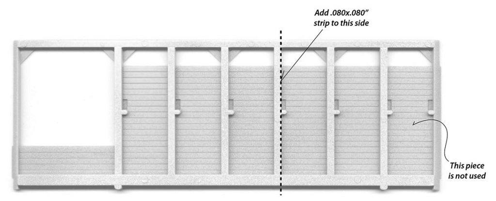 Lumber Shed Wall Cutting Diagram