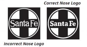 Santa Fe nose logo