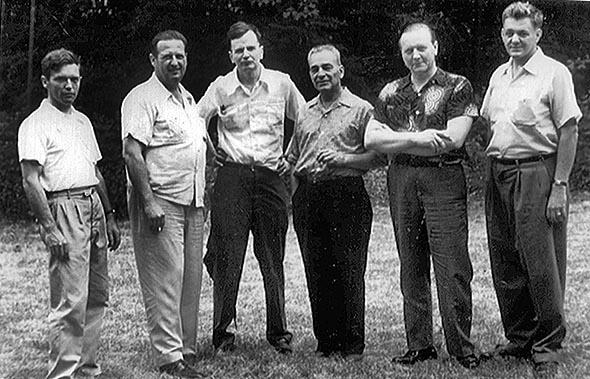 RMC Staff 1954