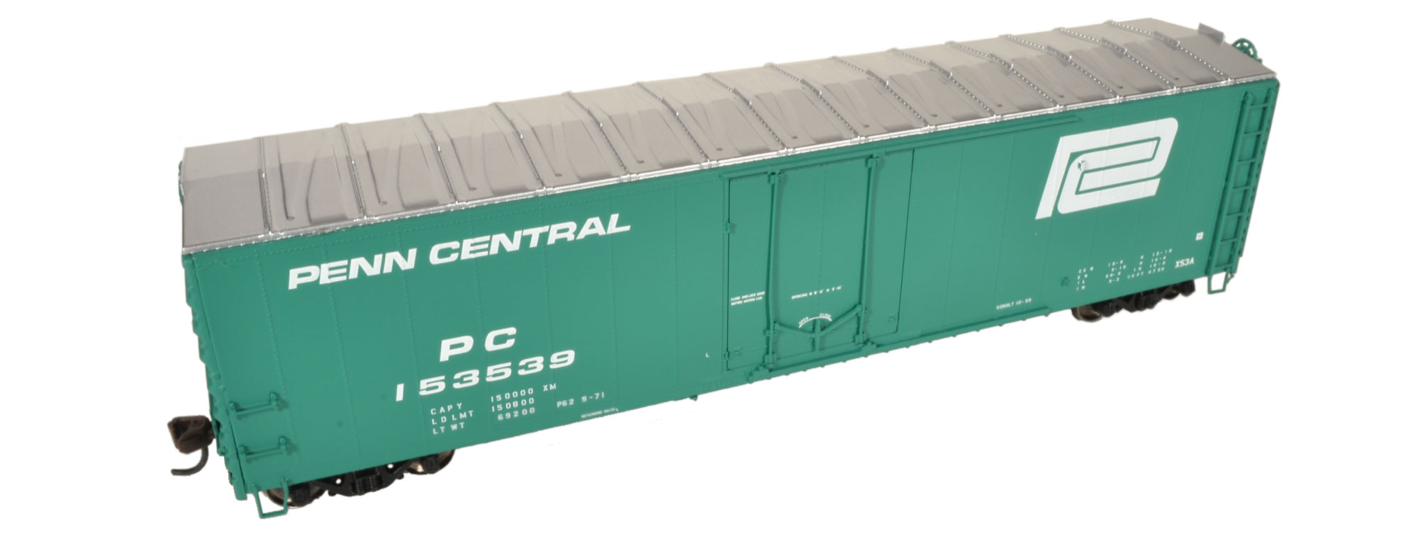 Weathering an ex-Penn Central Conrail Boxcar - Railroad Model Craftsman