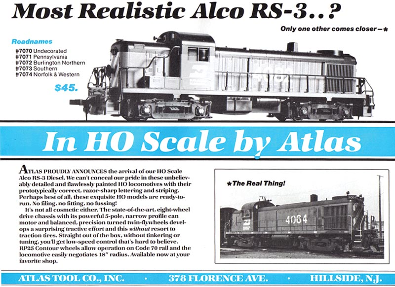 Atlas Model Railroad Co.