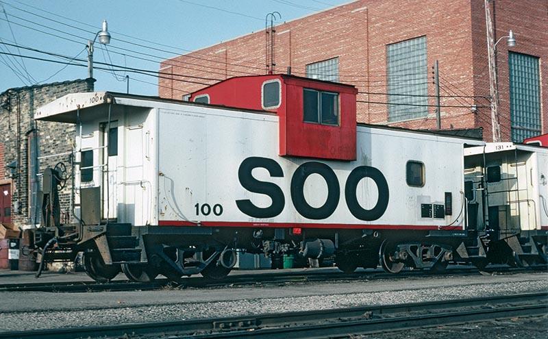 Soo Line Wide Vision Caboose