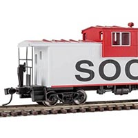 International Car Company Extended Wide-Vision Caboose by Walthers in HO Scale