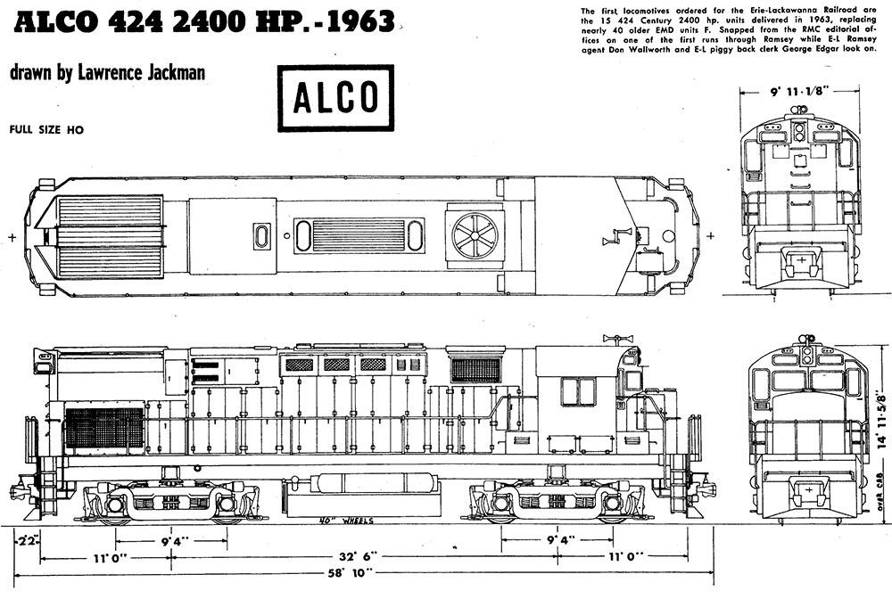 AHM Alco C424