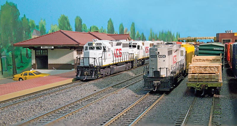 Kansas City Southern Third Sub in HO Scale