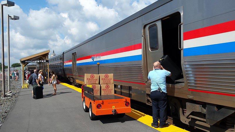 Amtrak Viewliner Baggage Car