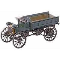 Berkshire Valley Models REO High Wheel Box Truck in O Scale
