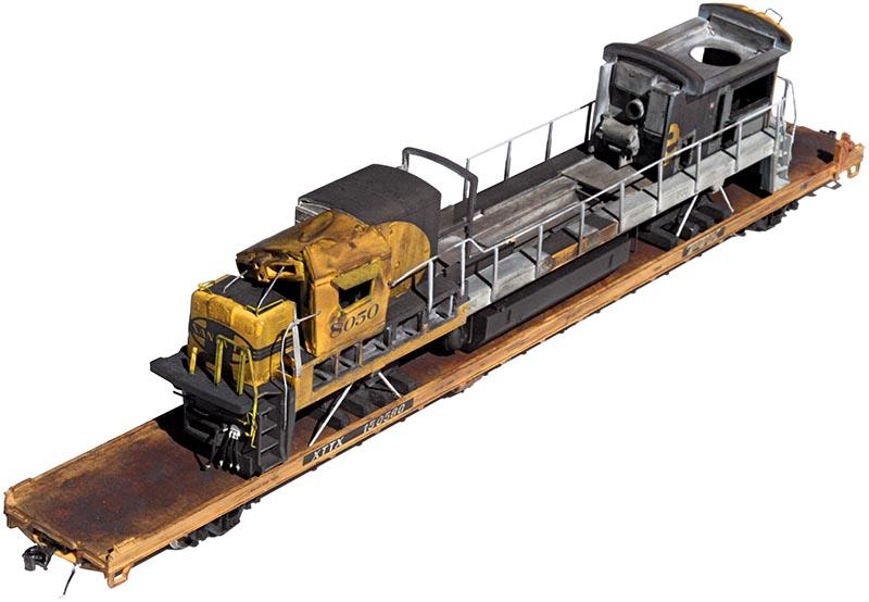 Get Wrecked: Modeling a Wreck Damaged Santa Fe C30-7