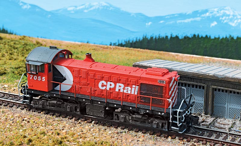 Customize an  MLW S-4 Switcher in N Scale