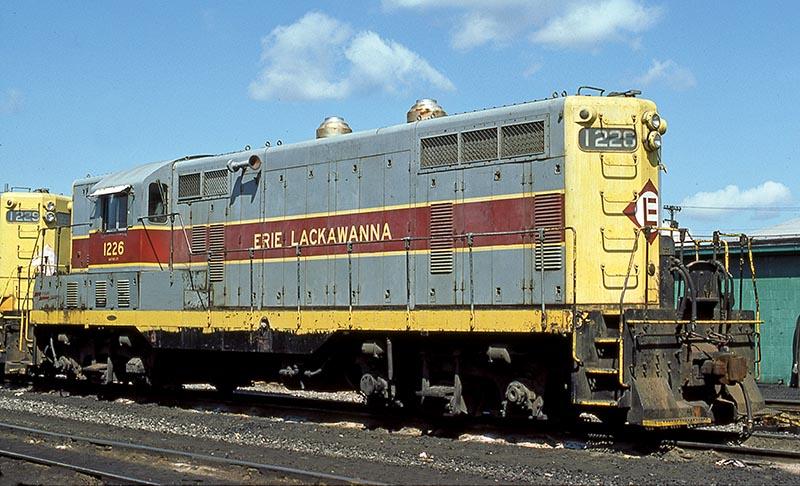 Erie Lackawanna GP7 1226