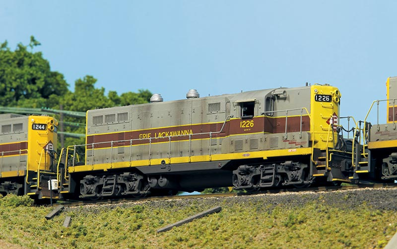 Detailing an Erie Lackawanna GP7 in HO Scale