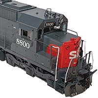 """ScaleTrains """"Rivet Counter"""" EMD SD45 Locomotive in HO Scale"""
