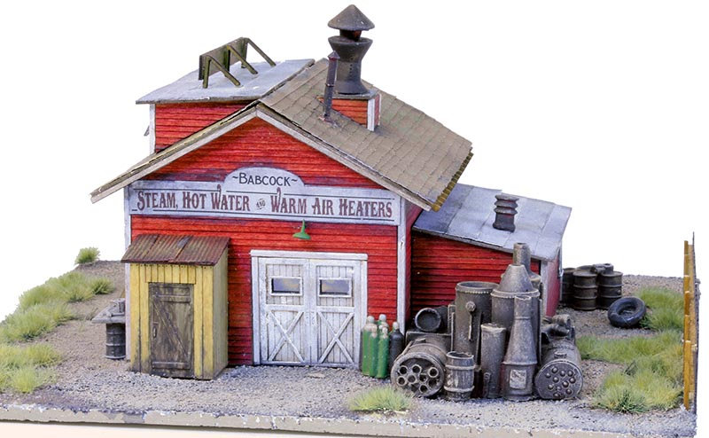 Bar Mills' Babcock Boiler Works Kit in HO Scale