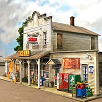 Detail and Kitbash a Country Store