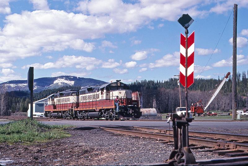 The Last Logging Railroad