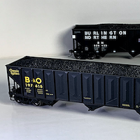 PREVIEW: Tangent Scale Models' HO Scale PS3526/3600/4000 Coal Hoppers