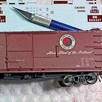Modeling Late-Life Northern Pacific Wood Boxcars