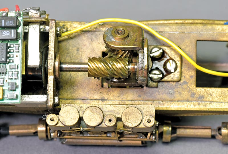 Remotor a Brass Shay