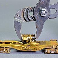 Remotor a PFM Brass Shay
