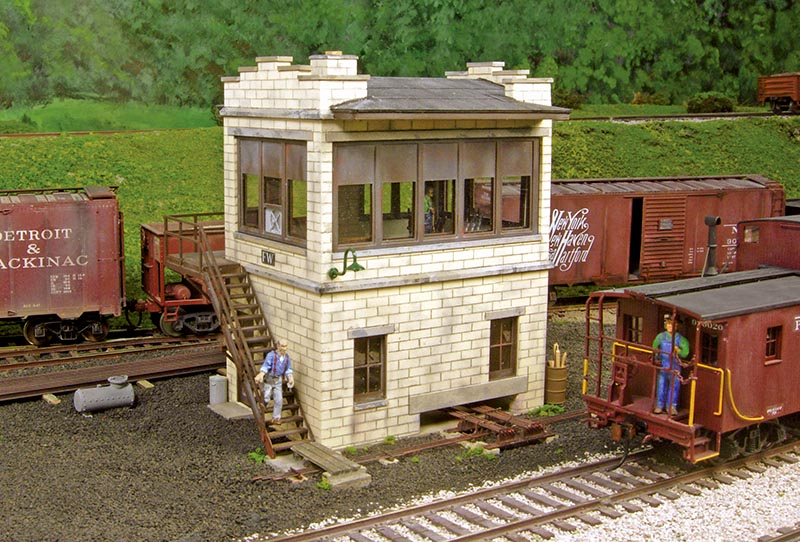 Building FW Tower in S Scale