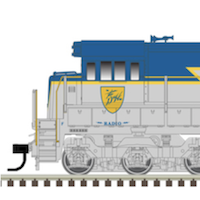 All-New HO Scale Phase I U30C from Atlas