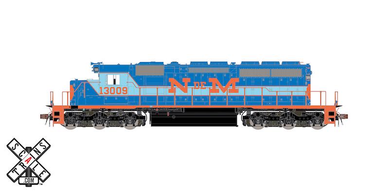 ScaleTrains Announces New SD40-2 Run