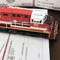 ScaleTrains Donates $30,000 Vets, First Responder Charities