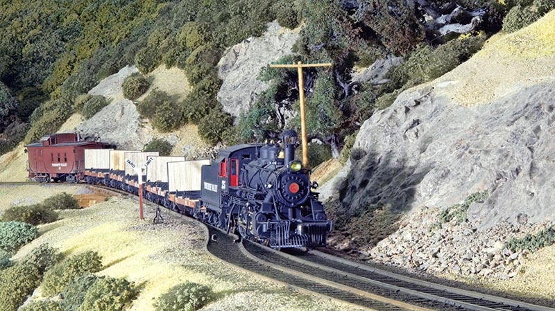 August 1939 on the Yosemite Valley Railroad