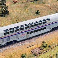 Build an Amtrak Pacific Parlour Car in HO