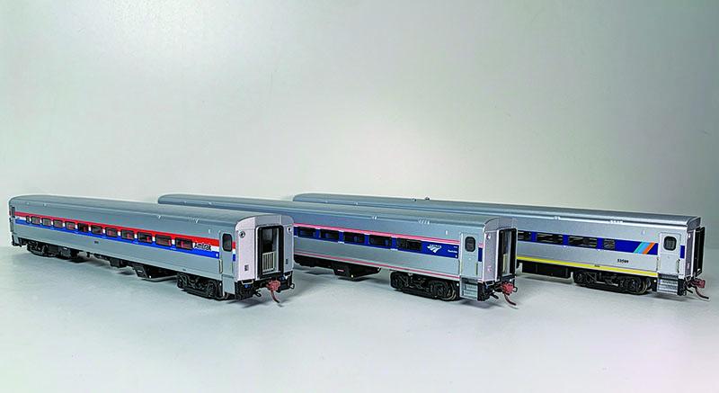 Rapido Trains Amtrak Horizon Passenger Cars