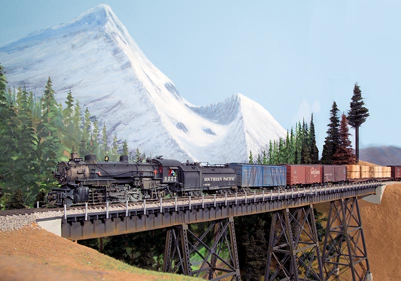 Southern Pacific Shasta Route in HO
