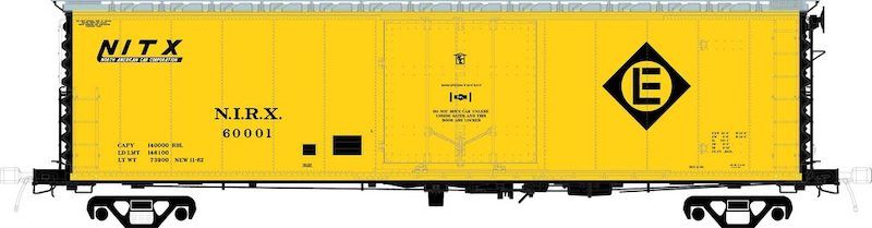 Moloco Trains Announces New Schemes for Plate B PC&F Boxcars